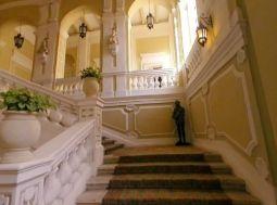 Auberge de Castille, lépcsőház