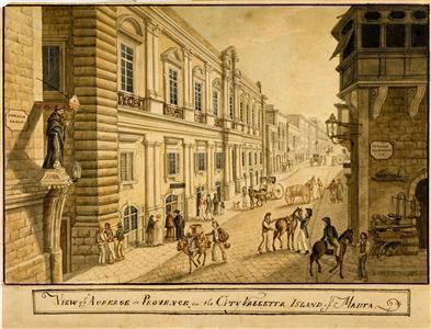 Auberge de Provence, régi ábrázolás