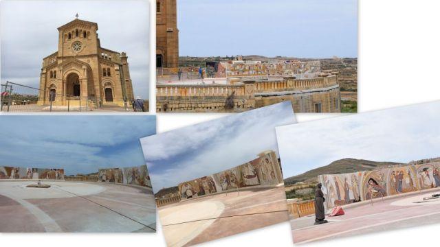 Gozo, Ta'Pinu - kollázs