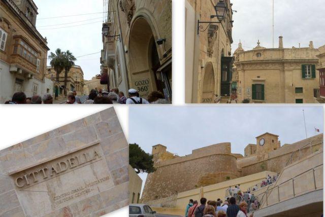 Gozo- fel a Cittadellához
