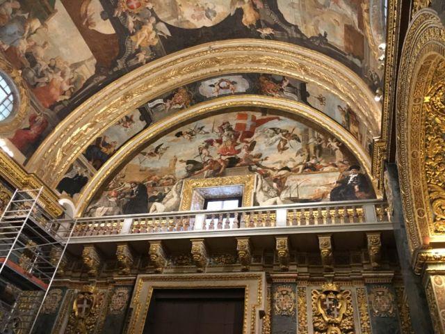 Málta IMG_4628 Zsu - Valletta Szt. János társkatedrális