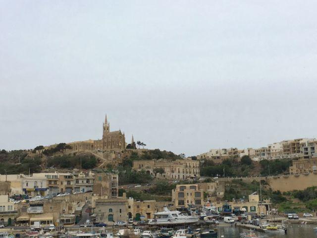 Málta IMG_5366 Zsu - Gozo, Mgarr kikötője
