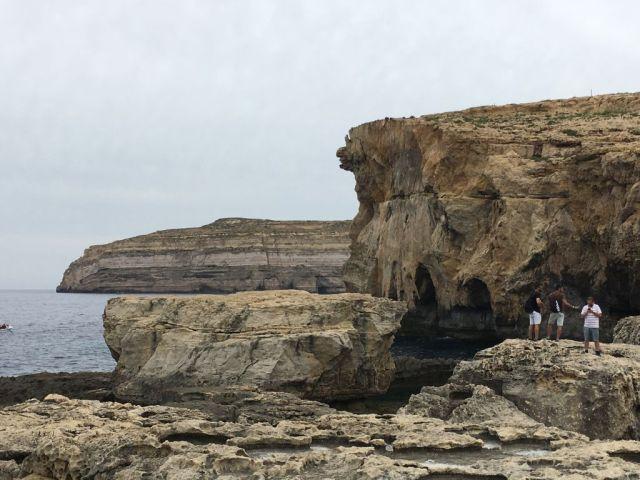 Málta IMG_5498 Zsu - Gozo, Azur ablak helye