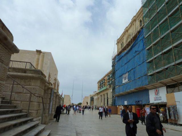 Málta P1670377 Valletta, Városkapu, Triq Repubblika
