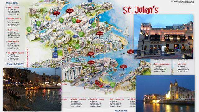 Sliema - St Julian's kollázs