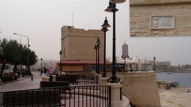 Sliema, St Julians tower, fotó AAnna