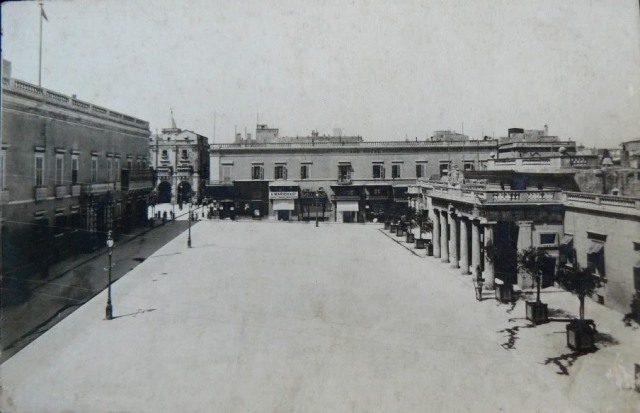 St. George's Square, Valleta 1898