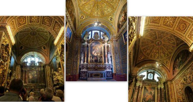 St. John cocat.- Aragon, olasz, castille kápolnák- kollázs
