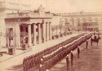 Troop review Main Guard Valletta 1900