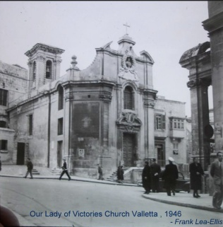 Valletta, Our Lady of Victories, 1946