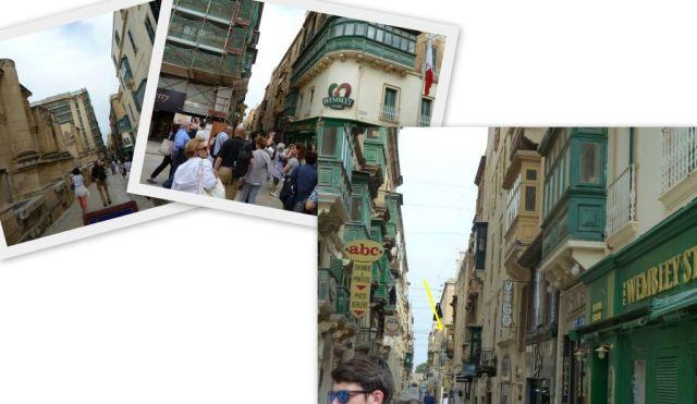 Valletta -South-Déli utca, kollázs 2