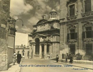Valletta, St. Catherine Church