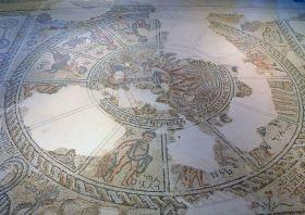 Cipori Zsinagóga, ókori Izrael területe, ZodiacMosaic