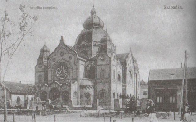 klap Szabadkai zsinagóga D-Ny oldal