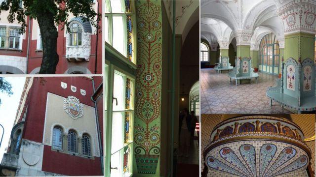 Szabadka városháza, magyaros díszítés