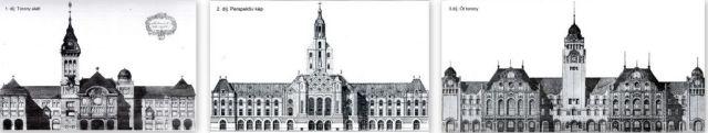 Szabadka városháza pályázat