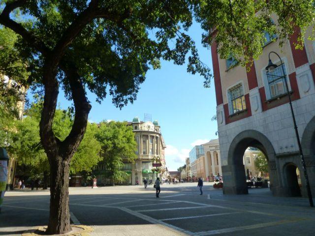 Szabadka P1760884 Szabadság tér, Nicín palota, Népszínház, Vháza, McDonalds