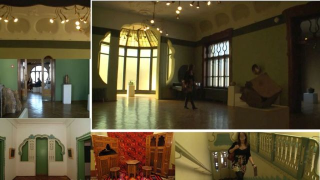 Szabadka- Raichle palota belső. kollázs 2