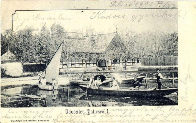 Üdvözlet Palicsról, 1903