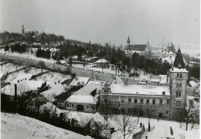 Budafok tájkép 1939