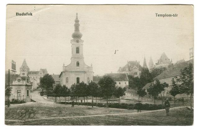 Budafok Templom tér, klap
