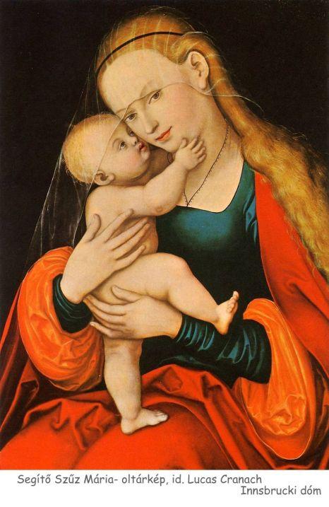 Gnadenbild_Mariahilf,_Innsbruck, Lucas Cranach the Elder c. 1530