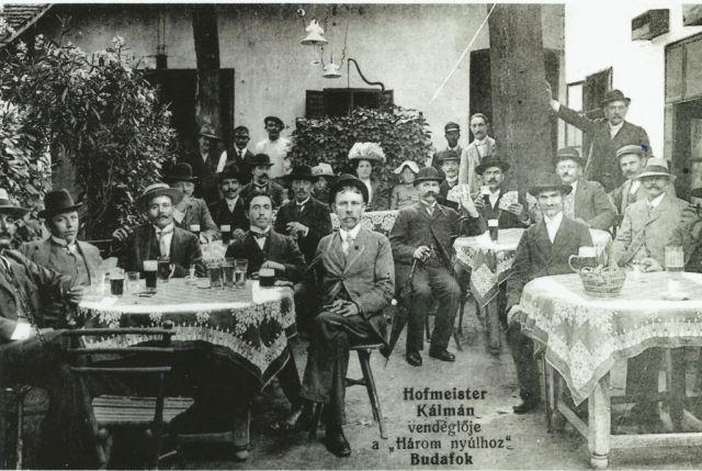 Három Nyúl Vendéglő, I.VH után - Tulajdonos, jogkezelő Promontor - Budafoki Polgárok Gyűjteménye