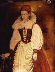 Elizabeth_Bathory_Portrait, 1585. évi eredetiről másolat