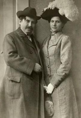 Móricz Zsigmond és Holics Janka