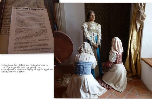 Nyírbátori kastély, nők a középkorban