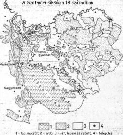 Szatmári_síkság 18. század, Ecsedi láp