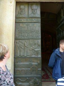 P1740564 Máriapócs templom, bronzkapu