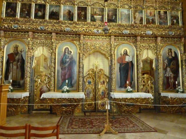 P1740587 Máriapócs kegytemplom ikonosztázion és Király kapu