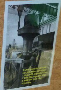 P1750810 Tiszalök, turbina generátor