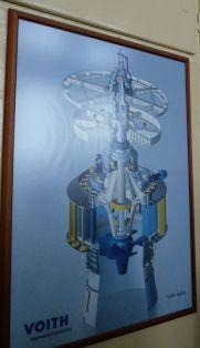 P1750816 Tiszalök, Voith turbina