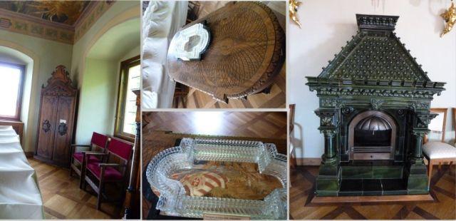 Sz-Sz-Bereg, Vaja kastély nagyterem