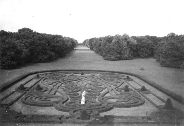 Andrássy kastély, Tiszadob, kijárat a Tiszához1