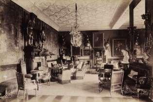 Fortepan 83481 Andrássy kastély, nagyszalon