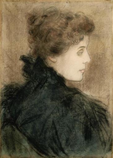Rippl-Rónai József - gróf Andrássy Tivadarné, Zichy Eleonóra, 1896