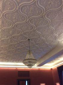 IMG_3868 Tiszadob, 2018.04.27. kastély, nagyszalon, plafon stukkó