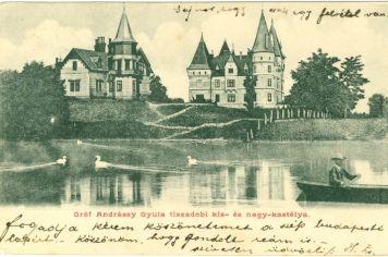 Két Andrássy kastély_Tiszadob
