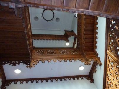 P1750851 Tiszadob, 2018.04.27. kastély, lépcsőház