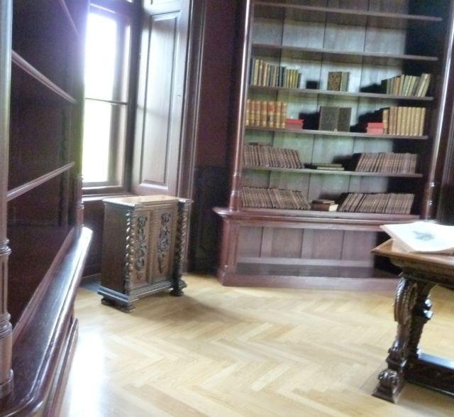 P1750901 Tiszadob, 2018.04.27. kastély, könyvtár