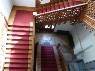 P1750943 Tiszadob, 2018.04.27. kastély lépcsőház