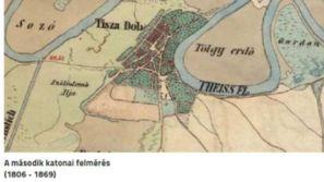 Tiszadob_térképe,_1806-1869._katonai_felmérés_szerint