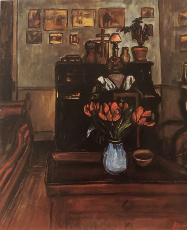 Rippl-Rónai József _ Alkonyat egy intim szobában, 1892