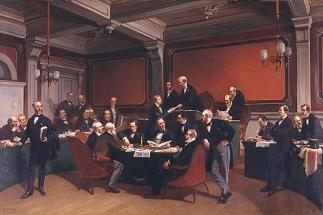 Charles Armand-Dumaresq- Az első Genfi Konvenció aláírása