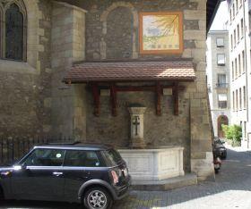 Genf 042 Kut az Eglise Saint Germain oldalan, R, des Granges