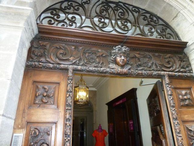 Genf, f210653640 Grand Rue 15, kapu Jacques Pictet ház (1690-1693)