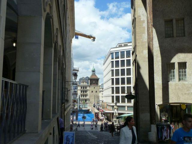 Genf, f210877392 Rue de la Cité- Tour de l'Ile